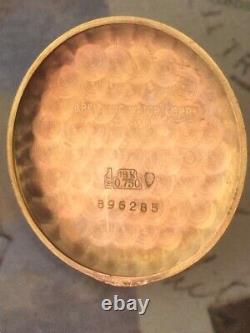 1940's RARE BREITLING CHRONOMAT 18K ROSE GOLD CHRONOGRAPH RUNS! BUY IT NOW