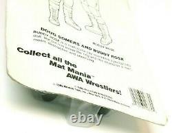 1985 AWA Remco All Star Wrestling Playboy Buddy Rose Mat Mania SEALED MOC RARE