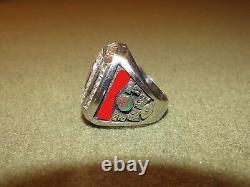 2010 Ohio State ROSE BOWL 09 Big Ten Champions Player Ring RARE WON ROSE BOWL