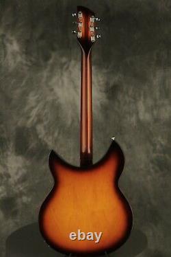 2012 Rickenbacker RARE 330S (1997 Rose Morris) MINT! One of only 15 made! TBG