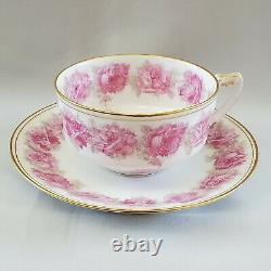 ANTIQUE Rare LIMOGES Haviland PINK DROP ROSE Tea Cup and Saucer Excellent