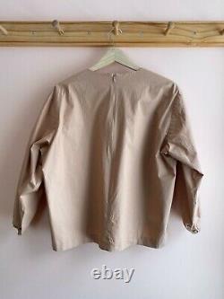 A Detacher NYC cotton dress blouse top rose origami shape la garconne M rare EUC