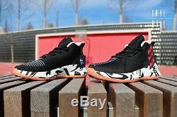 Adidas D Rose 9 F99884 White Gum Black Pink CNY New Year Pig Zebra Ren RARE NEW