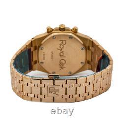 Audemars Piguet Royal Oak 260220OR Rare Dial Box & Paper 18k Rose Gold 39mm