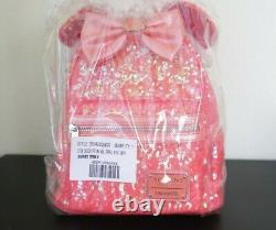 Aulani Exclusive Disney Loungefly Bag Coral Mickey Ear Mini Backpack Womens Rare