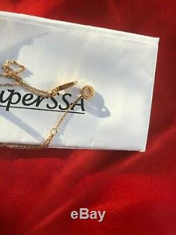 Authentic Rare Bvlgari Diva's Dream Coral Bracelet 750 18K Rose Gold