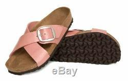 Birkenstock Sandals Big Buckle SIENA Graceful Old Rose regular NEW RARE