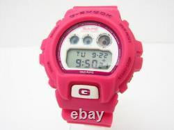 CASIO G-SHOCK x A Bathing Ape BAPE DW-6900 Limited Edition Watch Rose Pink Rare