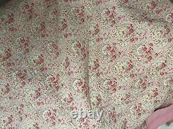 Cath kidston Cosy Pink Paisley Bedspread Rare