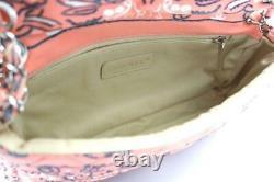 Chanel Bandana Pattern Chain Shoulder Bag Rose Pink Rare Design Used Ex++