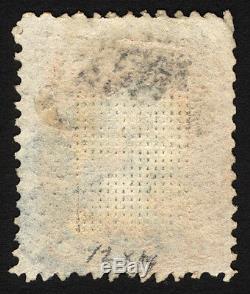 Classic US #85 3c 1868 Rose D Grill F Used Segmented Cxl Rare Stamp CV $1,100+