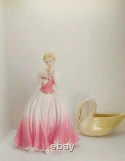 Coalport Figurine Dearest Rose Limited Edition pink rare