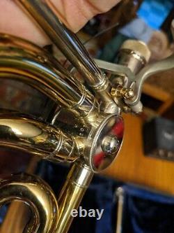 Conn 88H Pro Tenor Trombone F Attach Trigger Rose Bell R-12445 Case VTG 70s rare