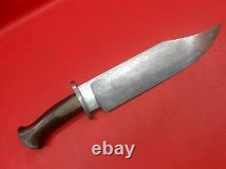 Damascus Steel Rare Custom Handmade Nice Grip Hunter Knife Rose Wood Handle
