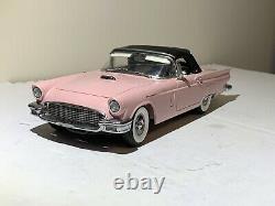 Danbury Mint 1957 Ford Thunderbird Convertible L. E. #150 Dusk Rose Rare