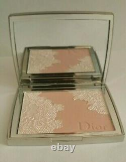 Dior Poudrier #001 Rose Dentelle/pink Lace Shimmer Powder Palette Extremely Rare