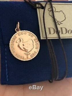 Dodo Pomellato Ciondolo Moneta Oro Rosa Rose Gold Pink Gold Rare Sold Out