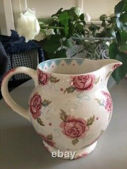 Emma Bridgewater 3 Pint Jug Discontinued Rose and Bee Very Rare