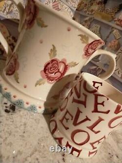 Emma Bridgewater Rose & Bee 2 Handled Love Cup Mug Vase RARE