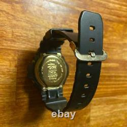 G-SHOCK × STUSSY limited Watch DW-6900 25th anniversary Memorial CASIO Used Rare
