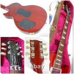 Gibson Les Paul Studio Rare Floyd Rose Sunburst 2014 electric guitar used