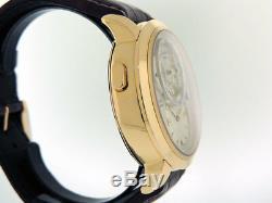 Glashutte Original PanoMaticChrono XL 95-01-31-11-04 18k Rose Gold $54,400 NIB