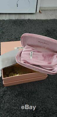 Gorgeous & Rare Miu Miu Rose Tinted/Pink Oversize Sunglasses. BNIB