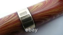 Gorgeous Rare Waterman 94 Pencil, Rose Ripple & 9k Gold Band, Works Fine Jm
