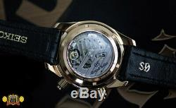 Grand Seiko SBGC004 Spring Drive Chronograph 18k Rose Gold Rare Watch