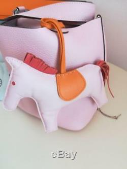 Hermes Picotin PM pink cherry color Rose Rare from japan 7622