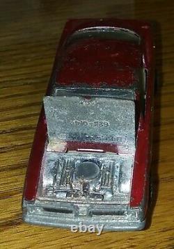 Hot Wheels Redline Custom Barracuda Rose Color Rare U S Version Obvious Wear