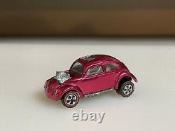 Hot Wheels Redline SUPER RARE Rose Pink Custom Volkswagen! PLEASE READ