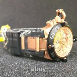 Invicta 16984 Subaqua Noma Rose Gold Dial Chronograph Watch Very Rare