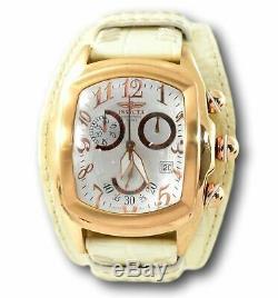 Invicta Dragon Lupah Men's Rose Gold Swiss Chronograph Watch 12381 RARE