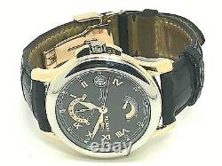 Invicta Limited Edition Rare Platinum 18k Rose Gold Automatic Swiss Men's Watch