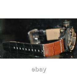 Invicta Men's Rare Russian Diver Lefty Swiss Chrono Grey MOP Dial Watch 17476