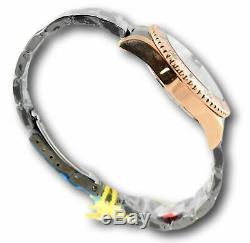 Invicta Pro Diver 23401 Men's Rose Gold / Black Luminous Quartz Watch 43mm RARE