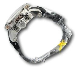 Invicta Venom Men's 53mm Rose Gold Snake Dial Swiss Chronograph Watch 32774 RARE