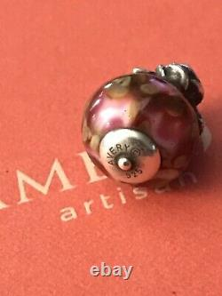 James Avery Retired Rare Silver Rose Finial