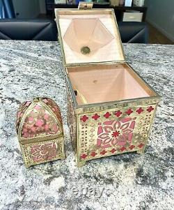 KATE SPADE Lantern Handbag & Ultra Rare Lantern coin purse Rambling Roses