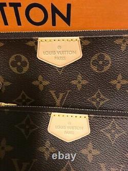 Louis Vuitton Monogram Multi Pochette Accessories M44840 Rose Pink Rare