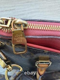 Louis Vuitton Pallas bb pink Rose Litchi Crossbody w Receipt RARE