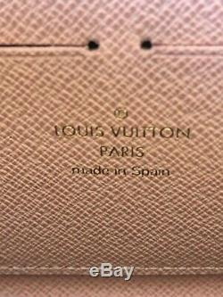 Louis Vuitton Zippy Wallet Rose Ballerine Pink Monogram Tassel Ponpom Rose Rare