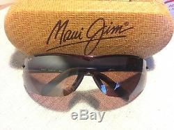 MAUI JIM Sunglasses Sandbar MJ 511-07 Burgundy/Maui Rose withcase Rare