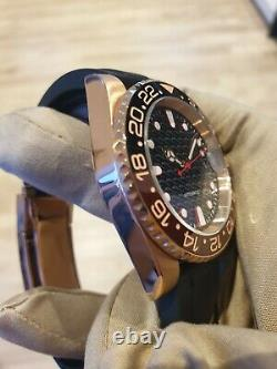 Mens rose sea yacht Homage Watch master automatic Rare bespoke detailed dial