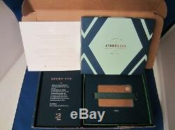 NEW RARE 2013 Rose Gold Metal Limited Edition Starbucks Gift Card with $0 balance