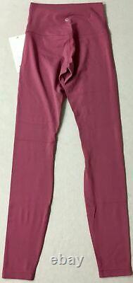 NWT Lululemon Align Pant Size 4 Moss Rose 28 RARE