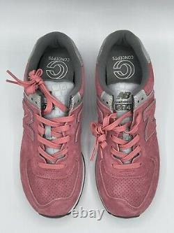 New Balance 574 x The Concepts Rose Running Shoes ML574CNT 2E Wide Size RARE