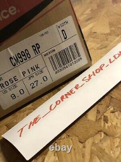 New Balance C998RP Rose Pink UK8.5 US9 DS RARE Supreme Solebox 1500 Purple Devil