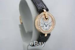 New Rare Cartier Captive 18k Rose Gold Factory Diamond Encrusted Watch Wg600007